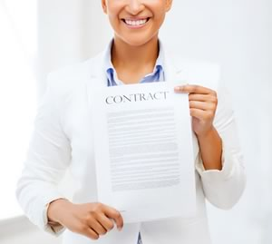A carefully written contract will address all the terms of employment between the employer and employee.