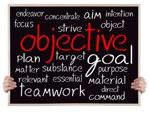 A primer on setting objectives.