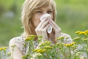 Allergies are defined as symptoms relating to the nose when an allergen is inhaled.
